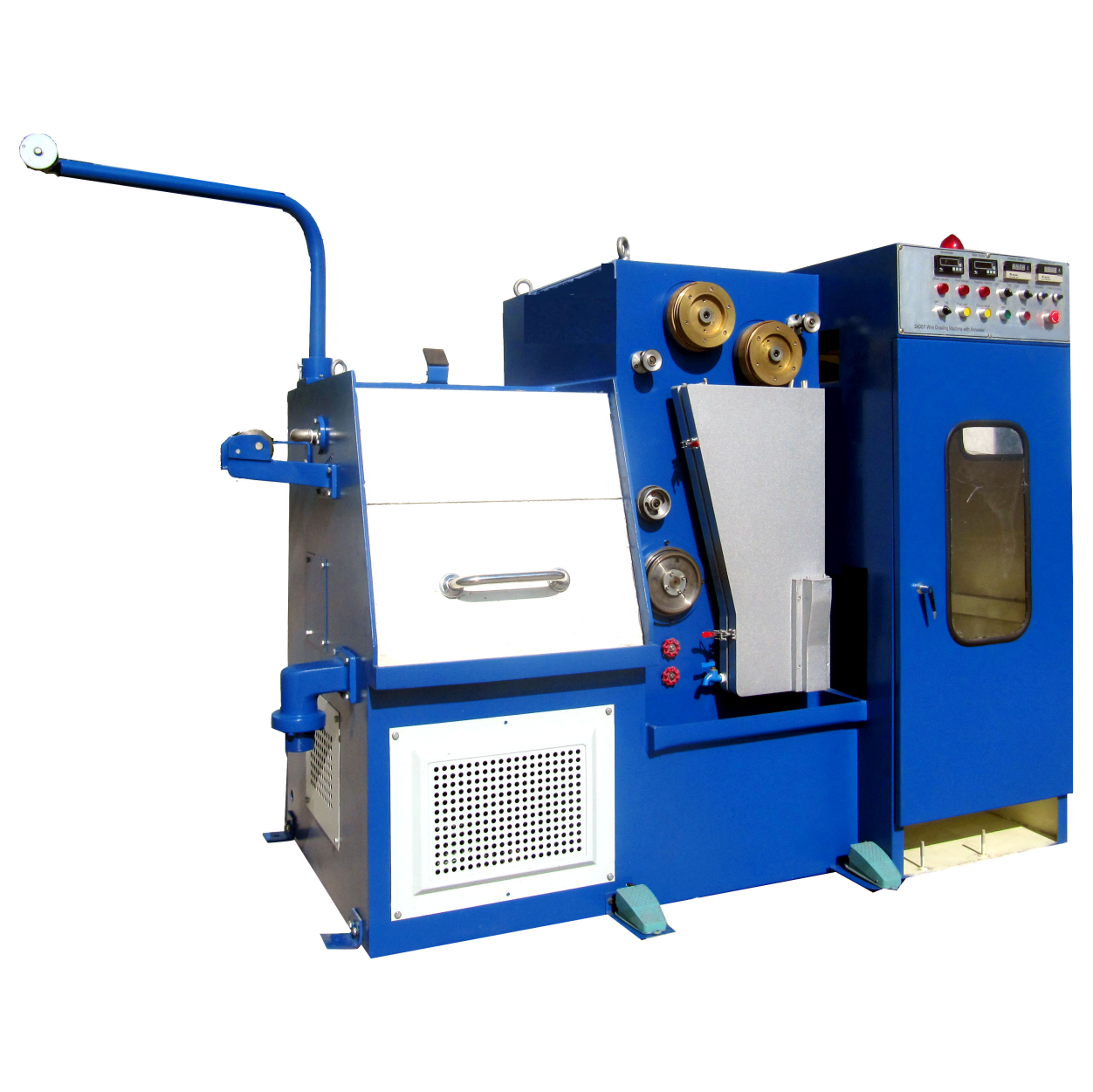 22DT Fine Copper wire drawing machine with annealing