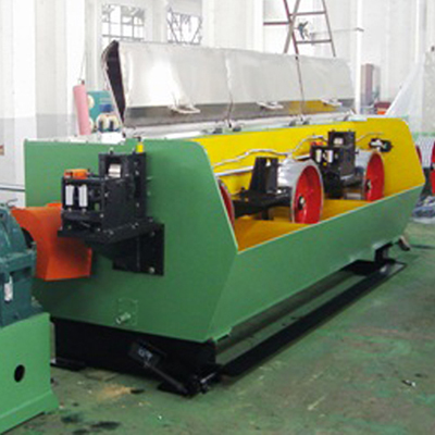 Five-die flat wire drawing machine