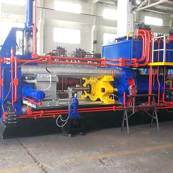 horizontal extrusion machine