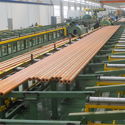 copper tube production line